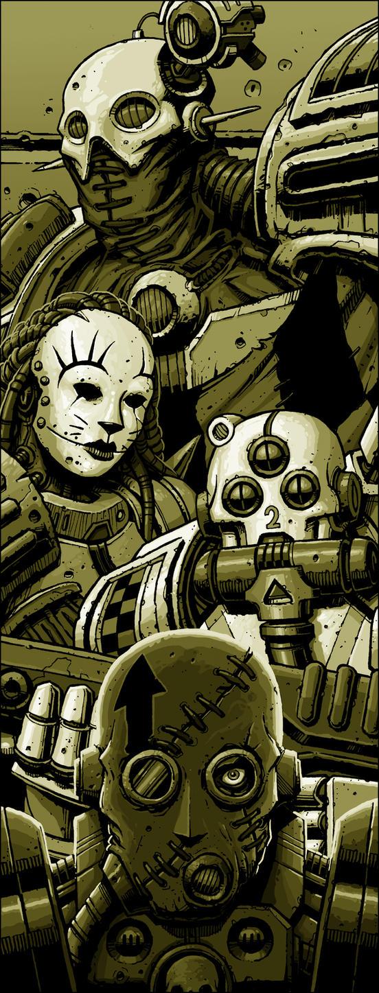 Mercenaries by DaveAllsop