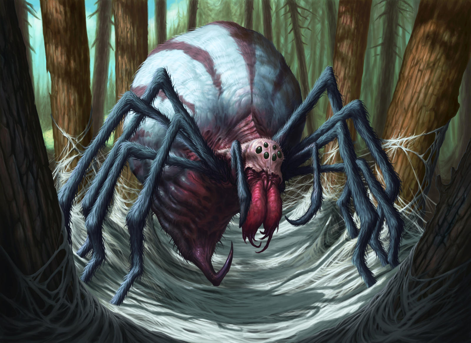 Stingerfling Spider by DaveAllsop