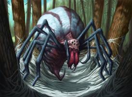 Stingerfling Spider by DaveAllsop