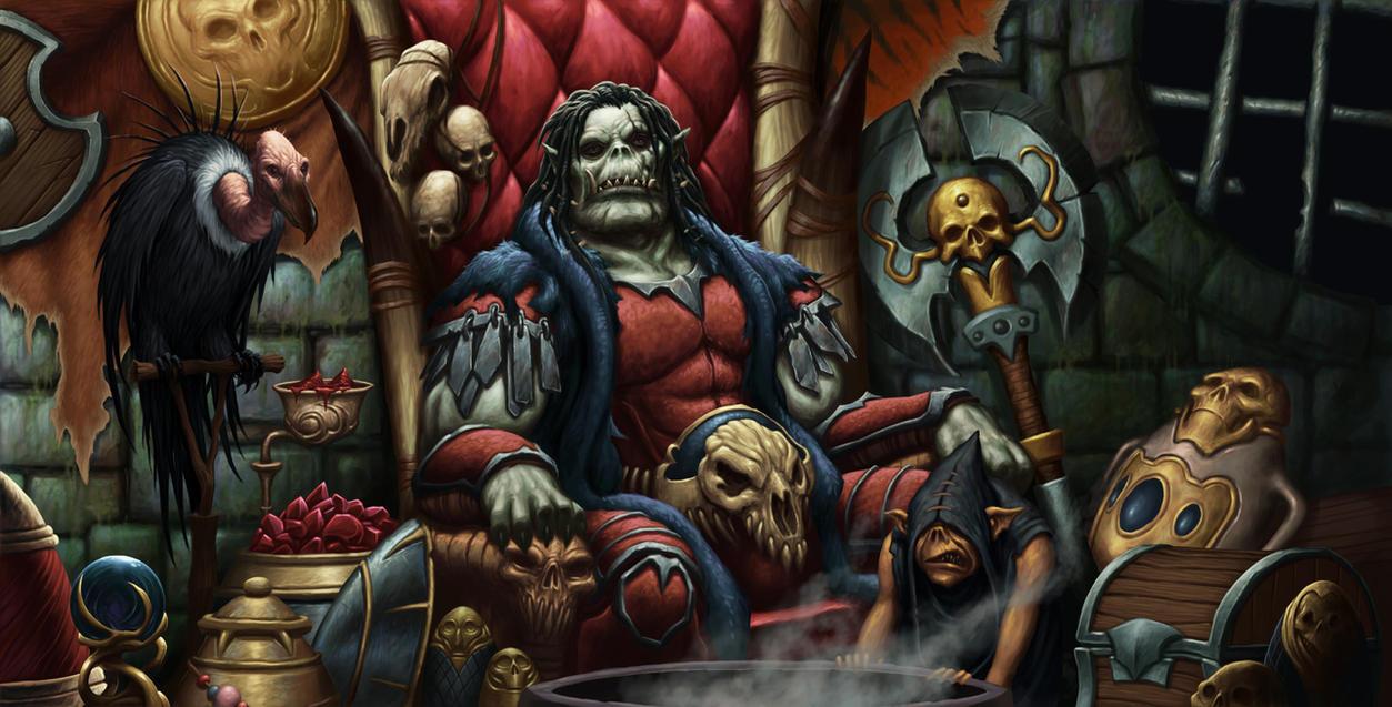 Bakrosh The Orc Chieftain By Daveallsop On Deviantart