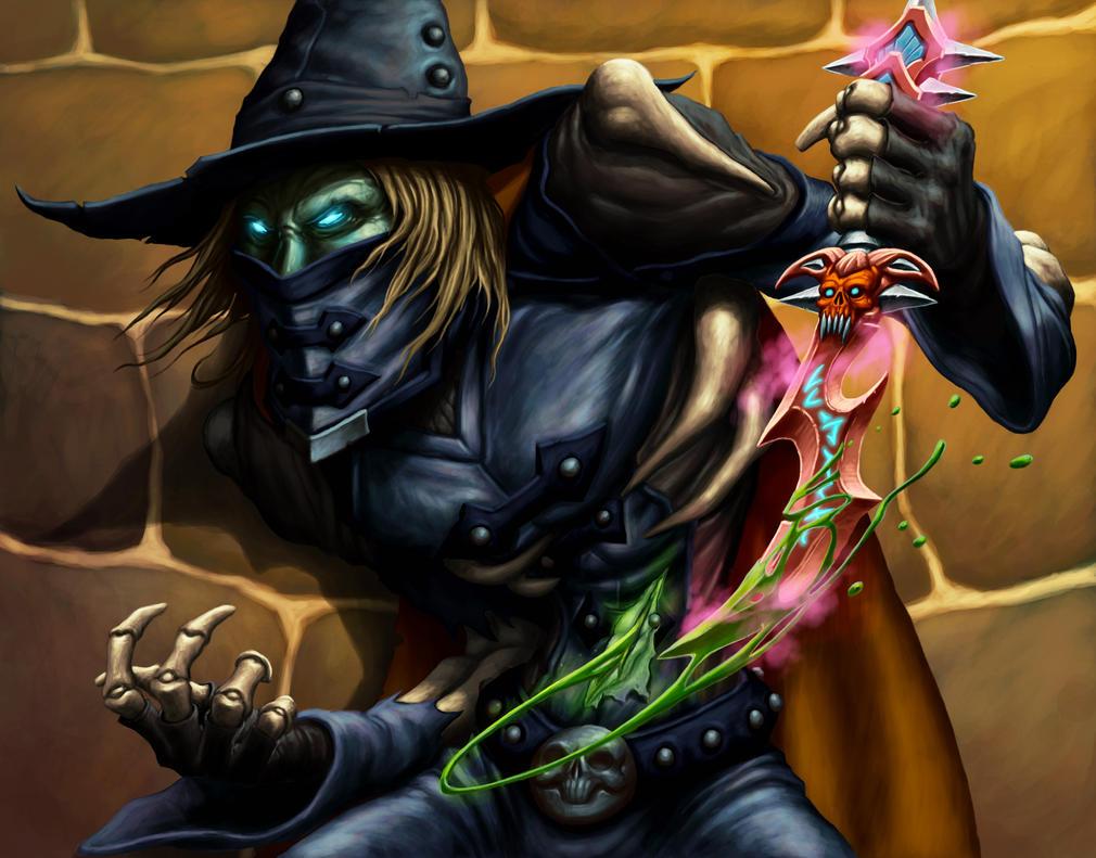 Poison Tipped - Baron Ashbury by DaveAllsop