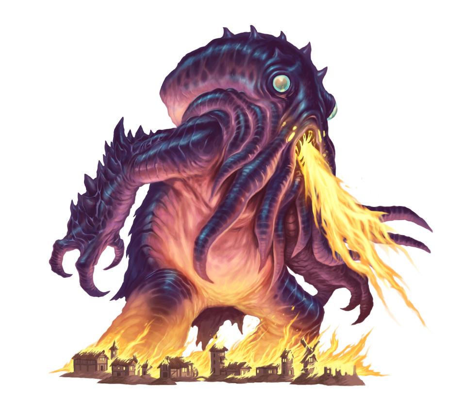 Kaiju by DaveAllsop