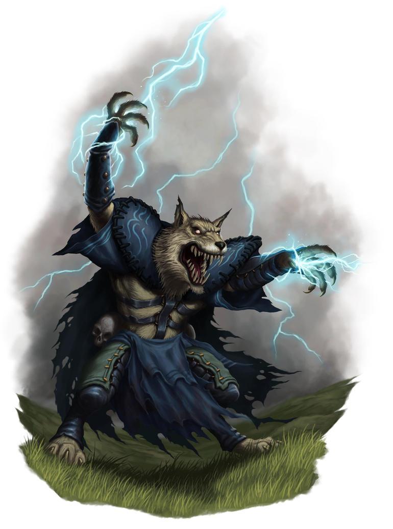 Werewolf Stormcaller by DaveAllsop