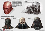 SLA Industries Concept Art - Scavs (Two)