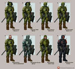 Shiver Armour Variants