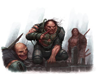 Cannibal Warband - SLA Industries