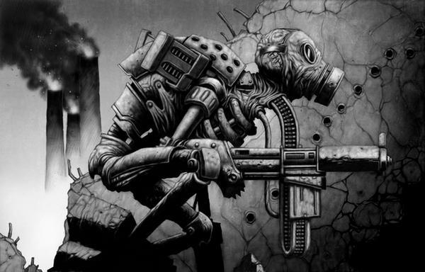 Gun Spirit by DaveAllsop
