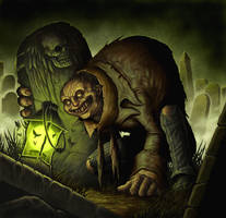 Grave Scrabbler by DaveAllsop