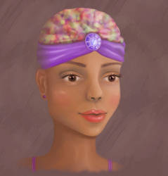 African Girl by marviiee