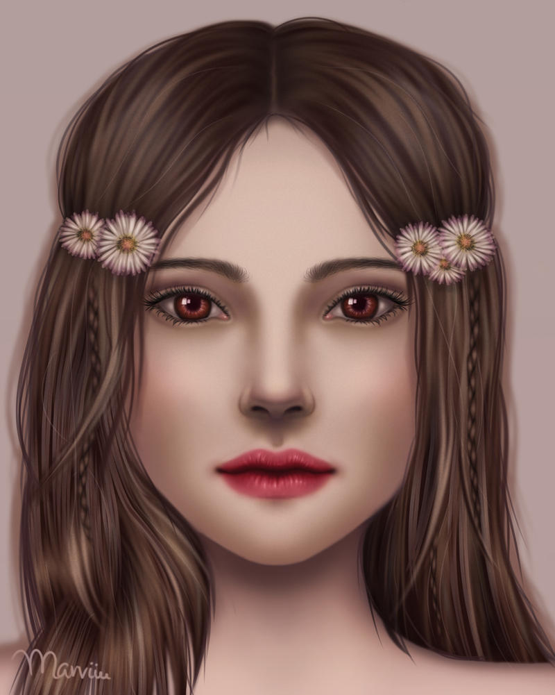 Soft Daisy by marviiee