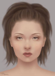 Girl Portrait by marviiee