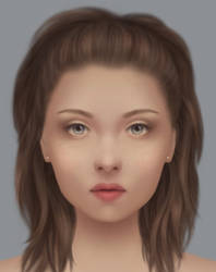 Girl Portrait 2 by marviiee