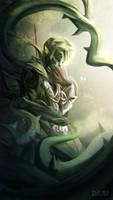 Guild Wars 2 - Trahearne (Spoilers) by Pixelationer