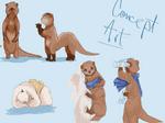 Otter-like fantasy race