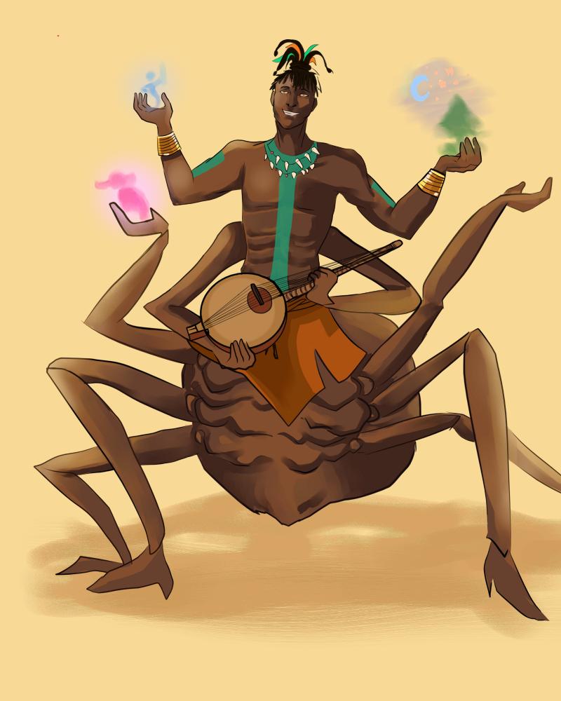 Anansi Spider God Of Tales