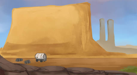 Western Scene - 30 Backgrounds Challenge #5