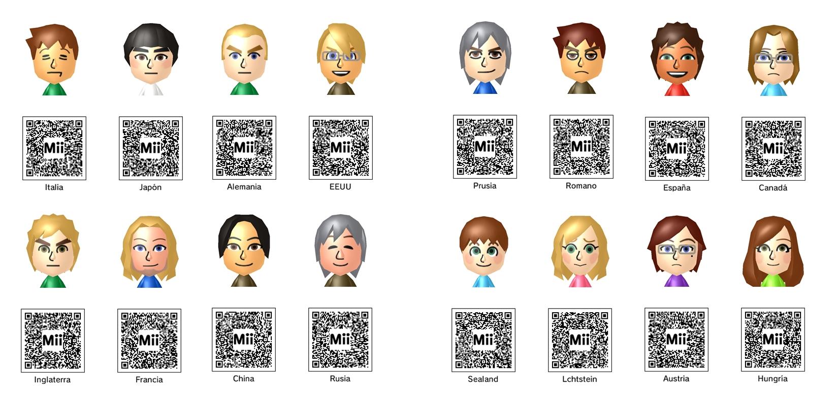 Anime Mii Characters 3ds : Hetalia miis n ds by mikkandois on deviantart