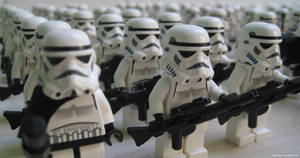 Lego Galactic Empire II by franklando