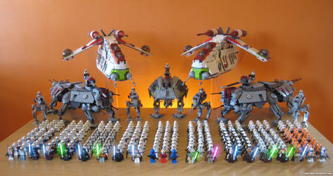 Begun This Clone War Has by franklando