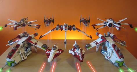 Galactic Republic Air Assault by franklando