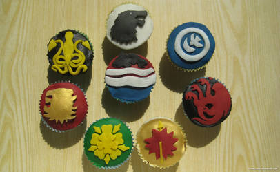 The Night Is Dark and Full of Cupcakes
