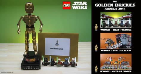 LEGO Star Wars Golden Brickies Awards by franklando