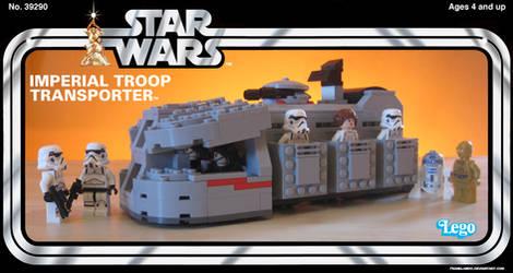 Kenner Imperial Troop Transporter by franklando