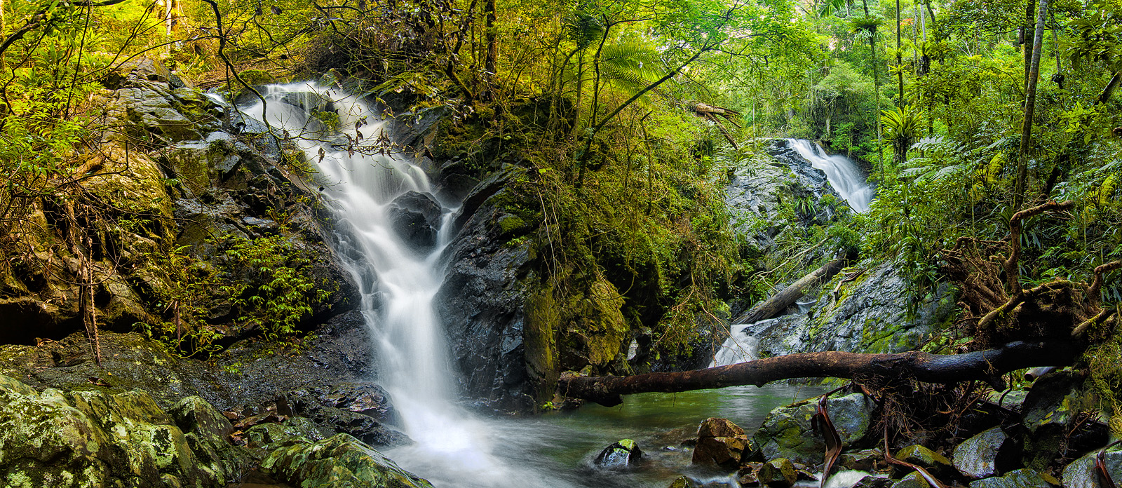 Twin falls panorama by georgegowan
