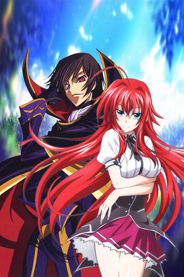 lelouch x Rias Gremory by MetalheadTsundere on DeviantArt