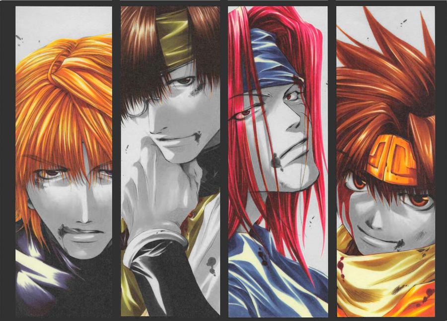 Saiyuki colours by ilaaaria