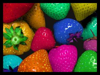 Fragole arcobaleno by ilaaaria