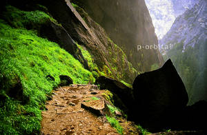 Mist Trail by porbital