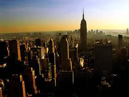 NYC Skyscraper by porbital