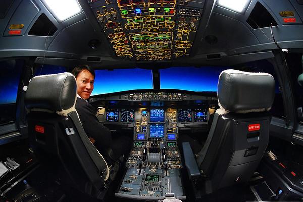 Cockpit by porbital