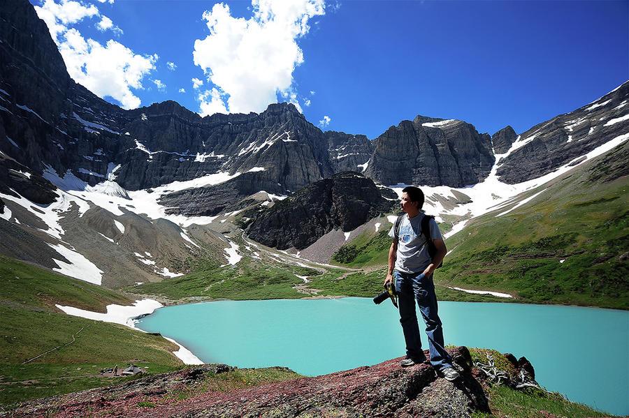 Me at Glacier NP by porbital