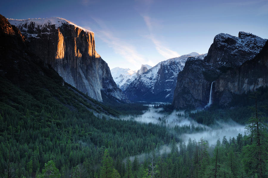 Tunnel View Sunrise by *porbital