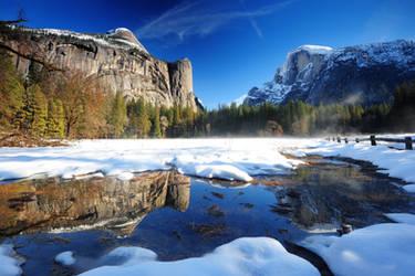 Winter Reflection by porbital