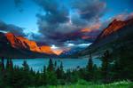 Glacier NP Sunrise