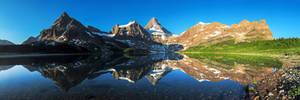 Mount Assiniboine Panorama
