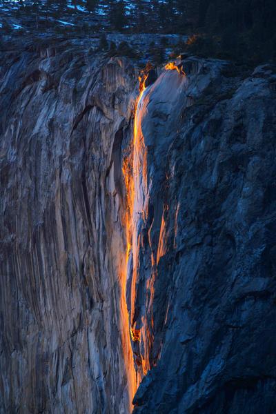 Horsetail Firefalls by porbital