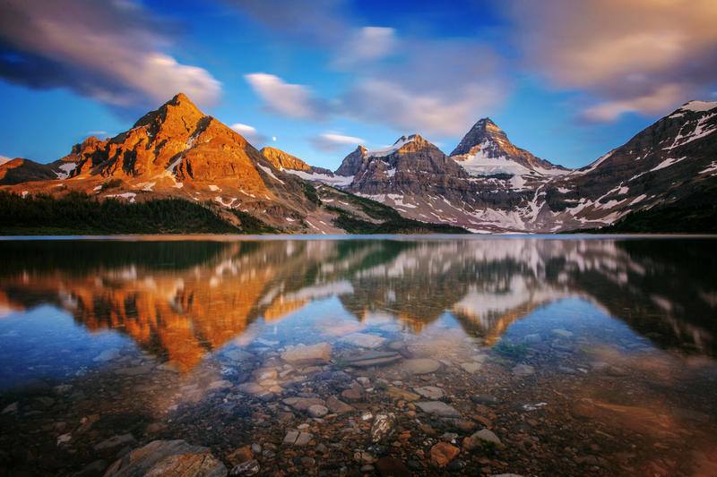 Gem of the Rockies by porbital