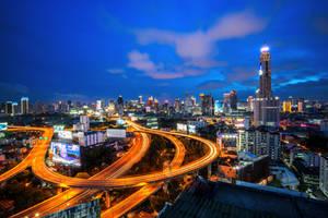 Bangkok never sleeps by porbital