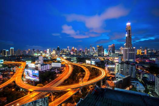 Bangkok never sleeps