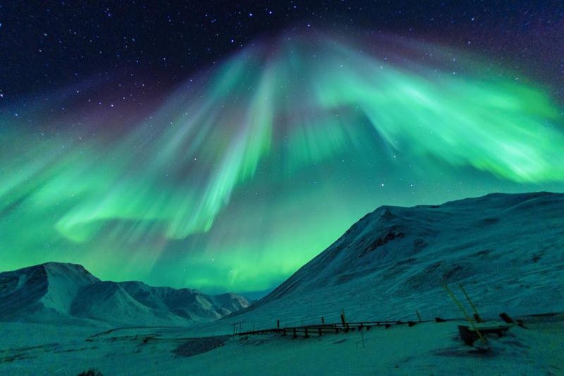 Aurora Borealis by porbital