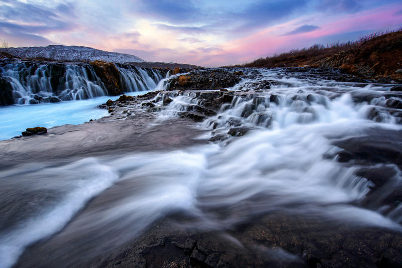 Iceland Waterfall by porbital
