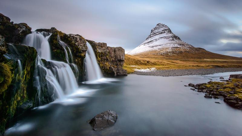 Kirkjufellfoss by porbital