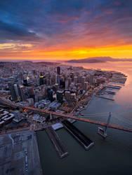 Aerial San Francisco by porbital