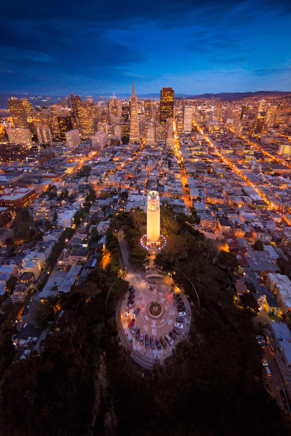 Coit Tower by porbital