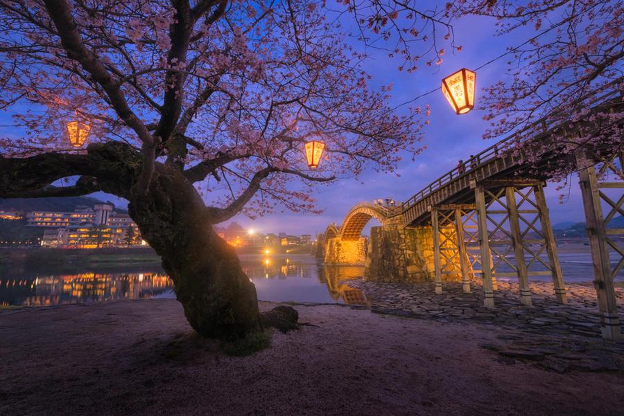 Kintai Bridge by porbital