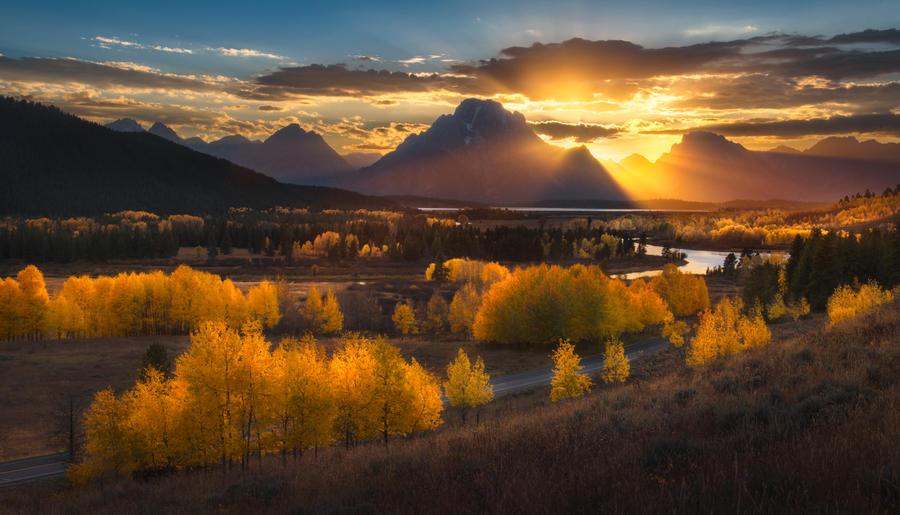 Teton Fall by porbital